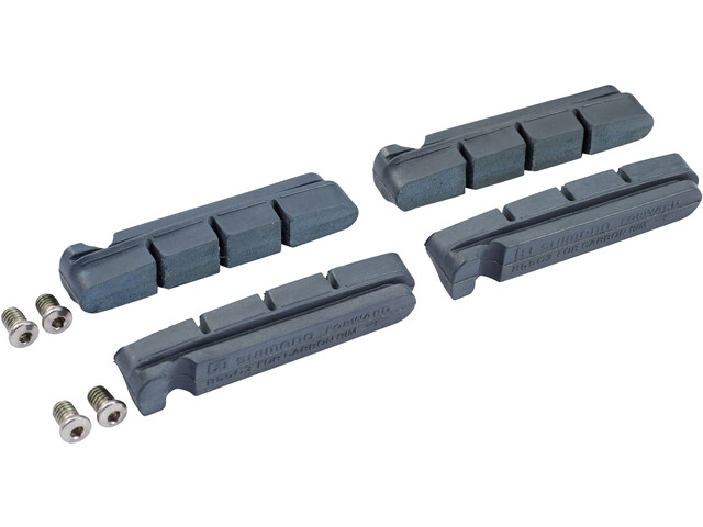 Shimano R55C3 Velgrem Remblokken voor carbon velgen, grey